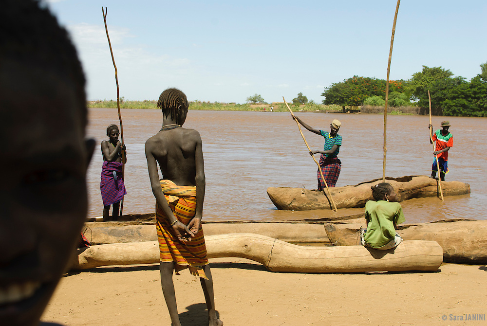 Dassanech Tribe, Omo River Valley, South Ethiopia, Africa