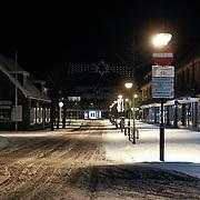 NLD/Amsterdam/20101129 - Nachtelijk straten gemeente Huizen, Kerkstraat