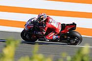 #4 Andrea Dovizioso, Italian: Mission Winnow Ducati Team during the Gran Premio Motul de la Comunitat Valenciana at Circuito Ricardo Tormo Cheste, Valencia, Spain on 16 November 2019.