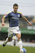Roger Johnson of Cardiff City. Coca Cola championship, Cardiff City v Sheffield Wednesday at Ninian Park, Cardiff on Sat 20th Dec 2008. pic by Andrew Orchard, Andrew Orchard sports photography,