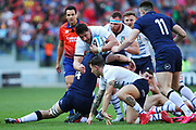 Alessandro Zanni of Italy in action during the Guinness Six Nations 2020, rugby union match between Italy and Scotland, Saturday Feb. 22, 2020,in Rome, Italy. (Federico Proietti/ESPA-Images-Image of Sport)