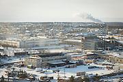 View of Severobaikal, Siberia, Russia