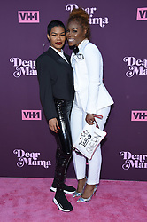 May 3, 2018 - Los Angeles, California, U.S. - Teyana Taylor and Nikki Taylor arrives for the VH1's 3rd Annual 'Dear Mama: A Love Letter to Moms' at the Theatre at the Ace Hotel. (Credit Image: © Lisa O'Connor via ZUMA Wire)