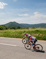 Alessandro BISOLTI of ANDRONI GIOCATTOLI during the 4th Stage of 27th Tour of Slovenia 2021 cycling race between Ajdovscina and Nova Gorica (164,1 km), on June 12, 2021 in Slovenia. Photo by Vid Ponikvar / Sportida