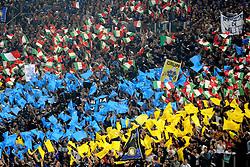02.05.2010, Stadio Olimpico, Roma, ITA, Serie A, Lazio Rom vs Inter Mailand, im Bild Tifosi dell'Inter.Inter fans. Roma. EXPA Pictures © 2010, PhotoCredit: EXPA/ InsideFoto/ Andrea Staccioli / SPORTIDA PHOTO AGENCY