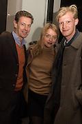 JAMES OGILVY; FLORA OGILVY; HUGO HAMPER-POTTS, A Celebration in Honour of Bill Viola, Blain Southern, Hanover Sq. London. 12 October 2015