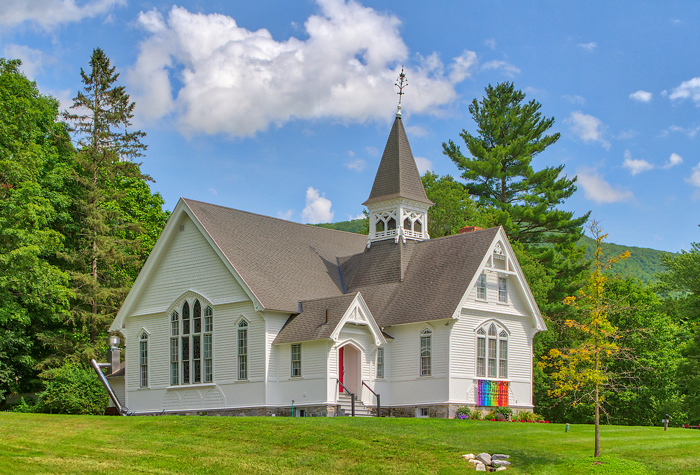 Historic white steeple West Stockbridge Congregational Church in the Berkshires of Western Massachusetts.<br /> <br /> West Stockbridge Congregational Church photography image artworks are available as museum quality photography prints, canvas prints, acrylic prints, wood prints or metal prints. Prints may be framed and matted to the individual liking and decorating needs.<br /> <br /> Good light and happy photo making!<br /> <br /> My best,<br /> <br /> Juergen