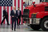 President Joe Biden visits Mack Trucks Lehigh Valley Operations on July 28, 2021