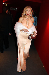 """VALENTINA DROUIN at the 10th annual British Red Cross London Ball.  This years ball theme was Indian based - """"Yaksha - Yakshi: Doorkeepers to the Divine"""" and was held at The Room, Upper Ground, London on 1st December 2004.  Proceeds from the ball will aid vital humanitarian work, including HIV/AIDS projects that the Red Cross supports in the UK and overseas.<br /><br />NON EXCLUSIVE - WORLD RIGHTS"""
