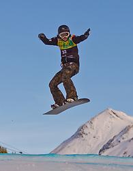 07.12.2010,AUT, Schlegelkopf, Lech am Arlberg, LG Snowboard, FIS Worldcup SBX, im Bild Fujimori Yuka, JPN, #32, EXPA Pictures © 2010, PhotoCredit: EXPA/ P. Rinderer