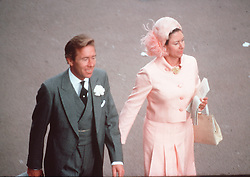 Princess Margaret with her husband Tony Armstrong-Jones, Lord Snowdon, at Royal Ascot on June 15, 1970.<br /> Lord Snowdon died peacefully at his home on January 13, 2017 aged 86.
