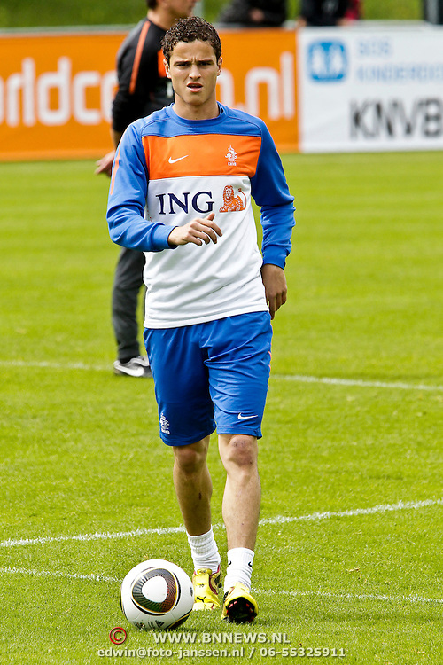 AUS/Seefeld/20100530 - Training NL Elftal WK 2010, Ibrahim Affalay