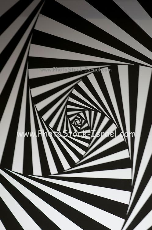 Endless tunnel illusion