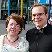 NLD/Amsterdam/20130601- Amsterdam diner 2013, Frank de Grave en partner Dorethea Verkerk