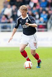 Falkirk's Stephen Kingsley..Falkirk's Football Club's last game of season 2011-2012..Falkirk 3 v 2 Ayr United, 5/5/2012..©Michael Schofield..