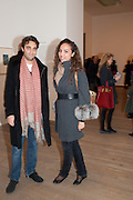 INDOO SELLA DI MONTELUCE; PRINCESS ALIA AL-SENUSSI, Yayoi Kusama opening. Tate Modern. London. 7 February 2012