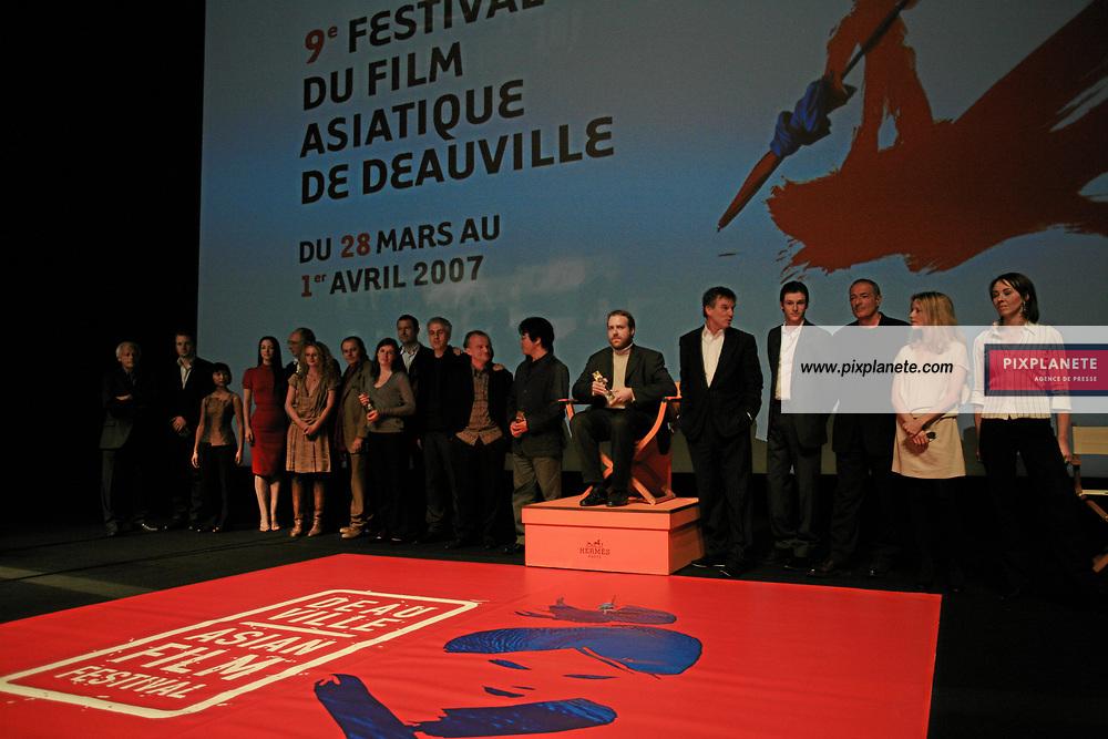Julie Dreyfus Julie Dreyfus Loo Hui Phang , Aurore Auteuil, Gérard Pires, Jocelyn Quivrin, - Les Jurys et les lauréats de la 9 ème édition du Festival du Film Asiatique de Deauville - - 9 ème Festival du Film Asiatique de Deauville - 1/4/2007 - JSB / PixPlanete