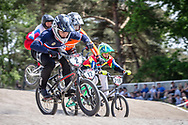#2 (ANDRE Sylvain) FRA at Round 5 of the 2018 UCI BMX Superscross World Cup in Zolder, Belgium