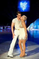 Dancing on Ice Photocall Sheffield Motorpoint Arena.Matt Evers and Denise Welch..7 April 2011.Images © Paul David Drabble
