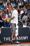THOUSAND OAKS, CA Sunday, August 12, 2018 - Nike Basketball Academy. Rasheed Wallace paces on the sideline. <br /> NOTE TO USER: Mandatory Copyright Notice: Photo by Jon Lopez / Nike
