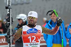 20.12.2013, Saslong, Groeden, ITA, FIS Ski Weltcup, Groeden, Herren, SuperG, Siegerpraesentation, im Bild Jan Hudec (CAN, 2. Platz) // 2nd place Jan Hudec of Canada Celebrate on Podium after mens Super-G of the Groeden FIS Ski Alpine World Cup at the Saslong Course in Gardena, Italy on 2012/12/20. EXPA Pictures © 2013, PhotoCredit: EXPA/ Johann Groder