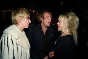 KIMBERLEY STEWART; RHYS IFANS; JO WOOD, The Pirate Provocateur Extravaganza launch party for the new Agent Provocateur Winter collection and for the release of Dirty Stop Out's new album 'Cuntro Classics' at KOKO. Campden. London. 13 November 2008 *** Local Caption *** -DO NOT ARCHIVE-© Copyright Photograph by Dafydd Jones. 248 Clapham Rd. London SW9 0PZ. Tel 0207 820 0771. www.dafjones.com.