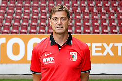 08.07.2015, WWK Arena, Augsburg, GER, 1. FBL, FC Augsburg, Fototermin, im Bild Co-Trainer Wolfgang Beller (FC Augsburg) // during the official Team and Portrait Photoshoot of German Bundesliga Club FC Augsburg at the WWK Arena in Augsburg, Germany on 2015/07/08. EXPA Pictures © 2015, PhotoCredit: EXPA/ Eibner-Pressefoto/ Kolbert<br /> <br /> *****ATTENTION - OUT of GER*****