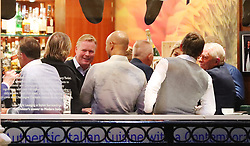 Everton manager Ronald Koeman and a group of 13 friends enjoyed a night out at San Carlo Italian Restaurant in Manchester city centre on Sunday night