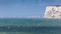 Round the Island Yacht race at Freshwater Bay