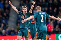 15-05-2019 NED: De Graafschap - Ajax, Doetinchem<br /> Round 34 / It wasn't really exciting anymore, but after the match against De Graafschap (1-4) it is official: Ajax is champion of the Netherlands / Matthijs de Ligt #4 of Ajax, Rasmus Kristensen #2 of Ajax