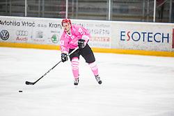 SODJA Urban during Alps Hockey League match between HC Pustertal and HDD SIJ Jesenice, on October 3, 2019 in Ice Arena Podmezakla, Jesenice, Slovenia. Photo by Peter Podobnik / Sportida