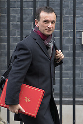 Downing Street, London, February 7th 2017. Welsh Secretary Alun Cairns leaves 10 Downing Street following the weekly UK cabinet meeting.