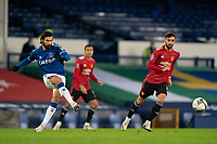 Football - 2020 / 2021 League Cup - Quarter-Final - Everton vs Manchester United - Goodison Park<br /> <br /> Everton André Gomes in action during todays match  <br /> <br /> <br /> COLORSPORT/TERRY DONNELLY