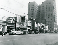 1942 Admiral Theater on the north side of Hollywood Blvd west of Vine St.