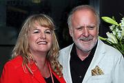Peter Reber mit Ehefrau Livia anlässlich des Prix Walo 2018.
