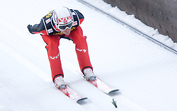 Bjorn Einar Romoeren of Norway competes during Trial round of the FIS Ski Jumping World Cup event of the 58th Four Hills ski jumping tournament, on January 5, 2010 in Bischofshofen, Austria. (Photo by Vid Ponikvar / Sportida)