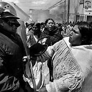 Martial law. Bolivia 1995.