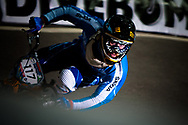 #117 (FANTONI Giacomo) ITA at the UCI BMX Supercross World Cup in Manchester, UK