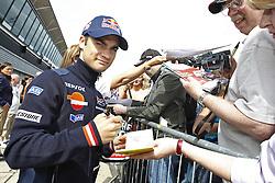 18.06.2010, Circuit, Silverstone, GBR, MotoGP, Airasia British Grand Prix, im Bild Dani Pedrosa - Repsol Honda team. EXPA Pictures © 2010, PhotoCredit: EXPA/ InsideFoto/ Semedia / SPORTIDA PHOTO AGENCY