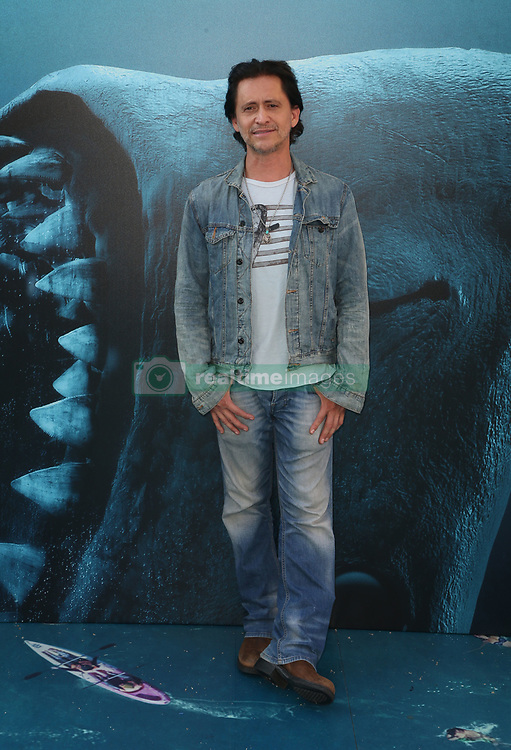 """HOLLYWOOD, CA - August 6: Cassie Scerbo, at Warner Bros. Pictures And Gravity Pictures' Premiere Of """"The Meg"""" at TCL Chinese Theatre IMAX in Hollywood, California on August 6, 2018. 06 Aug 2018 Pictured: Clifton Collins Jr. Photo credit: FS/MPI/Capital Pictures / MEGA TheMegaAgency.com +1 888 505 6342"""