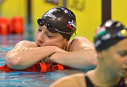 04-04-2015 NED: Swim Cup, Eindhoven<br /> Anja Klinar SLO, 400m freestyle<br /> Photo by Ronald Hoogendoorn / Sportida