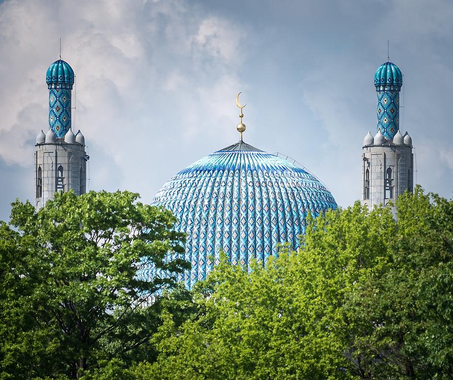 10 June 2017, Saint Petersburg, Russia. The Saint Petersburg Mosque.