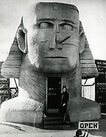 1929 Gwen Lee in front to the Sphinx Realty office at 537 N. Fairfax Ave.