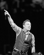 Bruce Springsteen and the E Street Band perform at the Rose Garden in Portland, OR, Nov 28, 2012
