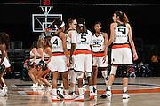2017 Miami Hurricanes Women's Basketball vs Coppin State