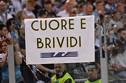 May 20, 2018 - Rome, Italy - Lazio supporters before the Italian Serie A football match between S.S. Lazio and F.C. Inter at the Olympic Stadium in Rome, on may 20, 2018. (Credit Image: © Silvia Lore/NurPhoto via ZUMA Press)