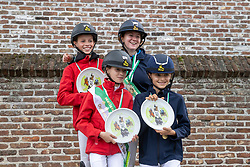Allerlei<br /> Nationaal Kampioenschap LRV <br /> Ponies Dressuur - Oudenaarde 2020<br /> © Hippo Foto - Dirk Caremans<br /> 03/10/2020