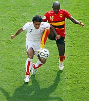 Mehdi Mahdavikia Iran, Mendonca<br /> Fussball WM 2006 Iran - Angola 1:1<br />  Norway only