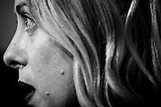 Giorgia Meloni durante le consultazioni con il Presidente della Repubblica. Quirinale, Roma 9 dicembre 2016. Christian Mantuano / OneShot<br /> <br /> Representatives of the 'Brothers of Italy' Party, Giorgia Meloni, speak to media after leaving the President Sergio Mattarella studio during the second day of talks with political parties at Palazzo del Quirinale on December 9, 2016 in Rome. Christian Mantuano / OneShot