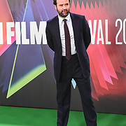 Daniel Mays arrives at The Phantom of the Open at BFI London Film Festival 2021, 12 October 2021 Southbank Centre, Royal Festival Hall, London, UK.